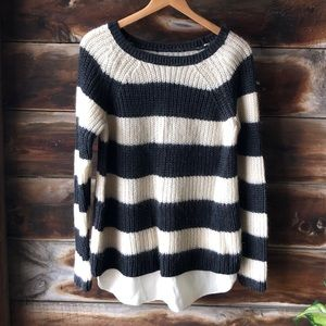 Angora super soft sweater / fuzzy / wool / chunky